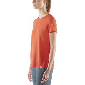 Fjällräven High Coast Lite T-Shirt Femme, rowan red